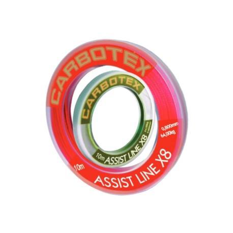 Νήμα assist δεσίματος αγκιστριών Carbotex X8 10m_e-sea.gr