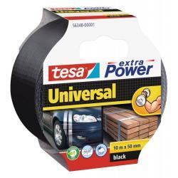 Ταινία υφασμάτινη EXTRA POWER tesa 50mmX10m μαύρη_e-sea.gr