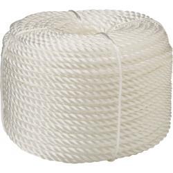 Σχοινί λευκό 24mm πολυπροπυλενίου