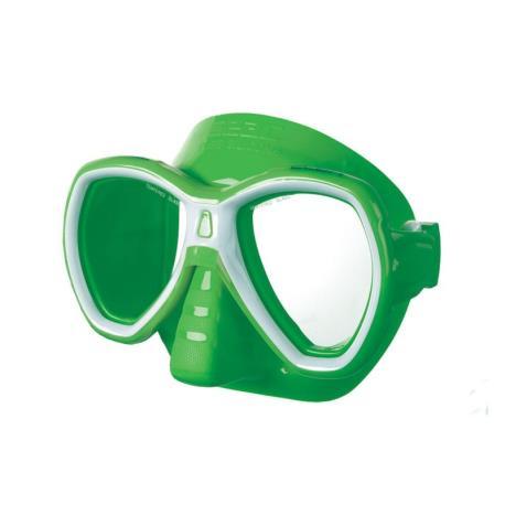 Μάσκα Seac Elba πράσινο/λευκό_e-sea.gr