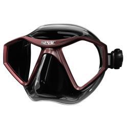 Μάσκα Seac L70 Μαύρο-Καφέ