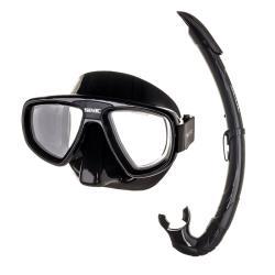 Σετ Μάσκα-Αναπνευστήρα Seac Extreme Μαύρο