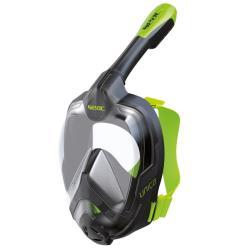 Μάσκα full face Unica Seac μαύρο/πράσινο S/M