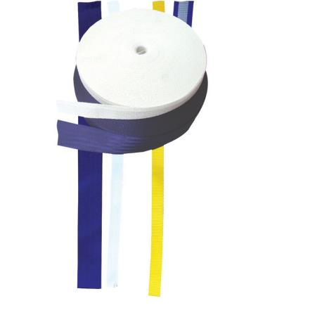 Ιμάντας πολυεστέρα 25mm - Άσπρο - (ρολλό 50m),Πάχος 1,8mm