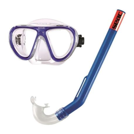 Σετ μάσκα αναπνευστήρας Seac Plage παιδικό_e-sea.gr