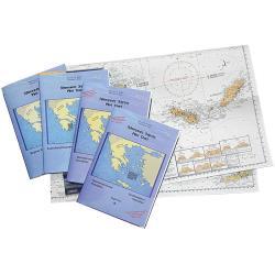 Πλοηγικός χάρτης, Νο 8, Πατραϊκός Κόλπος, Ιθάκη, Κεφαλλονιά