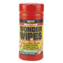 Πανάκια καθαρισμού Everbuild Wonder Wipes 100τεμ