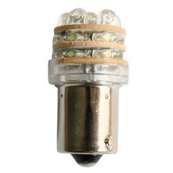 Λαμπάκι LED, 12V, T18 BA15S, ψυχρό λευκό - 18 LEDs