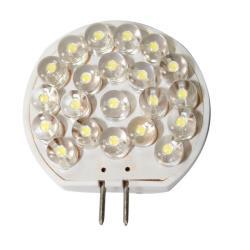 Λαμπάκι LED, 12V, T30, G4, ψυχρό λευκό - 21 LEDs