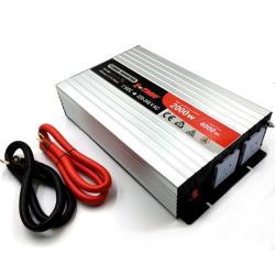 Inverter καθαρού ημιτόνου 24V 2000W HIP-2000