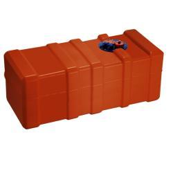 Σταθερό πλαστικό τεπόζιτο 140lt