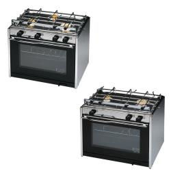Κουζίνα με φούρνο & 2 εστίες, 500x435x400mm, 21kg