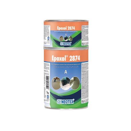Υγρό γυαλί Epoxol 2874 A+B kit 1kg_e-sea.gr