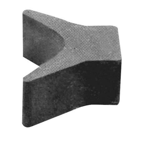 Stopper πλώρης από λάστιχο, 76(Μ)x95(Β)x79(Υ)mm
