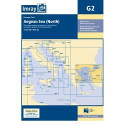 Πλοηγικός Χάρτης Ελλάδος G2 Βόρειο Αιγαίο Imray